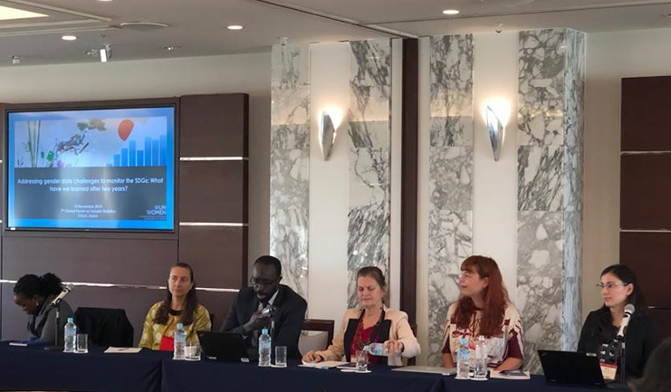 UN Women organizes side event at Global Forum on Gender Statistics