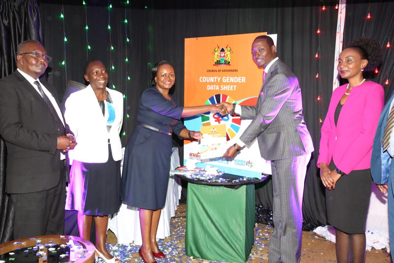 Launch of Kenya county data sheets