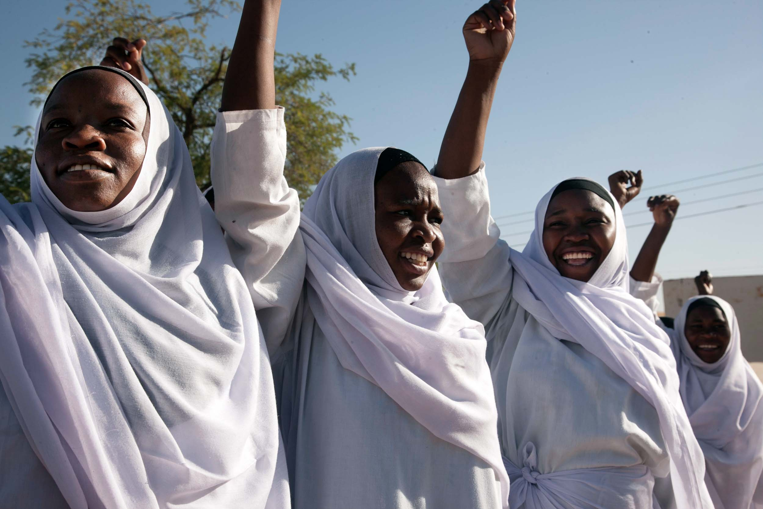 Activism against Gender Violence. Photo: Hamid Abdulsalam, UNAMID